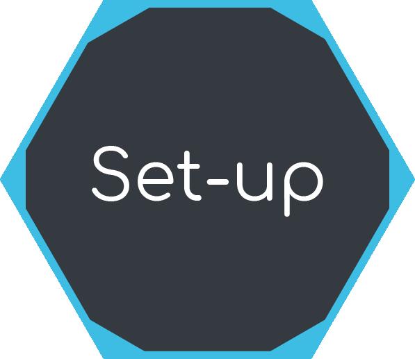 Icon für Projekt Set-up Phase