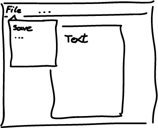 Eventstorming interface sketch example