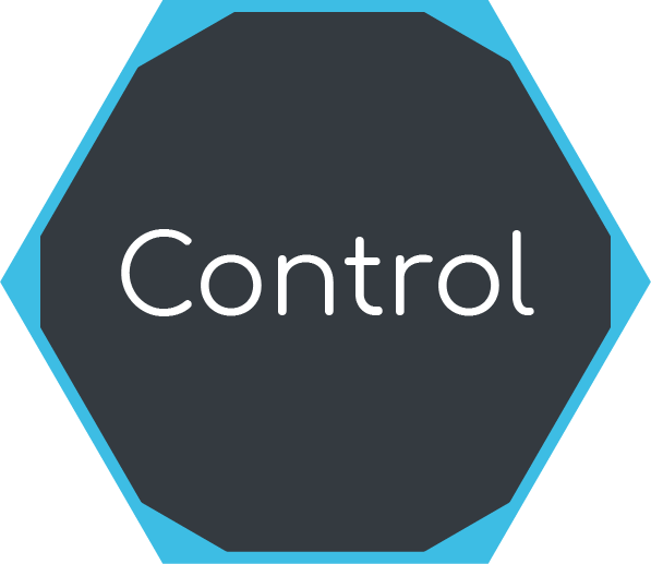 Icon for project controlling phase
