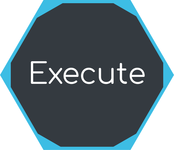 Icon for project execution phase