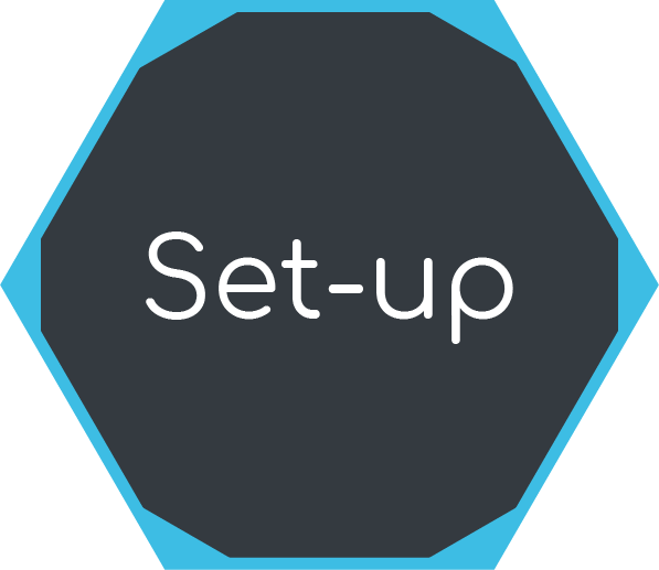 Icon for project set-up phase